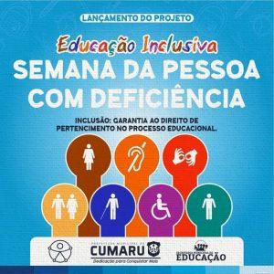 Reunião de Lançamento do Projeto da Semana da Pessoa com Deficiência